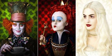 A Alice do Tim Burton