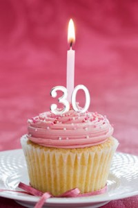 30th-Birthday-Cupcake