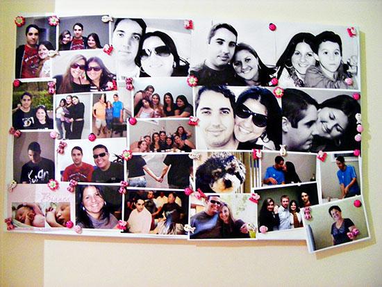 5. Renovar as fotos do mural do quarto